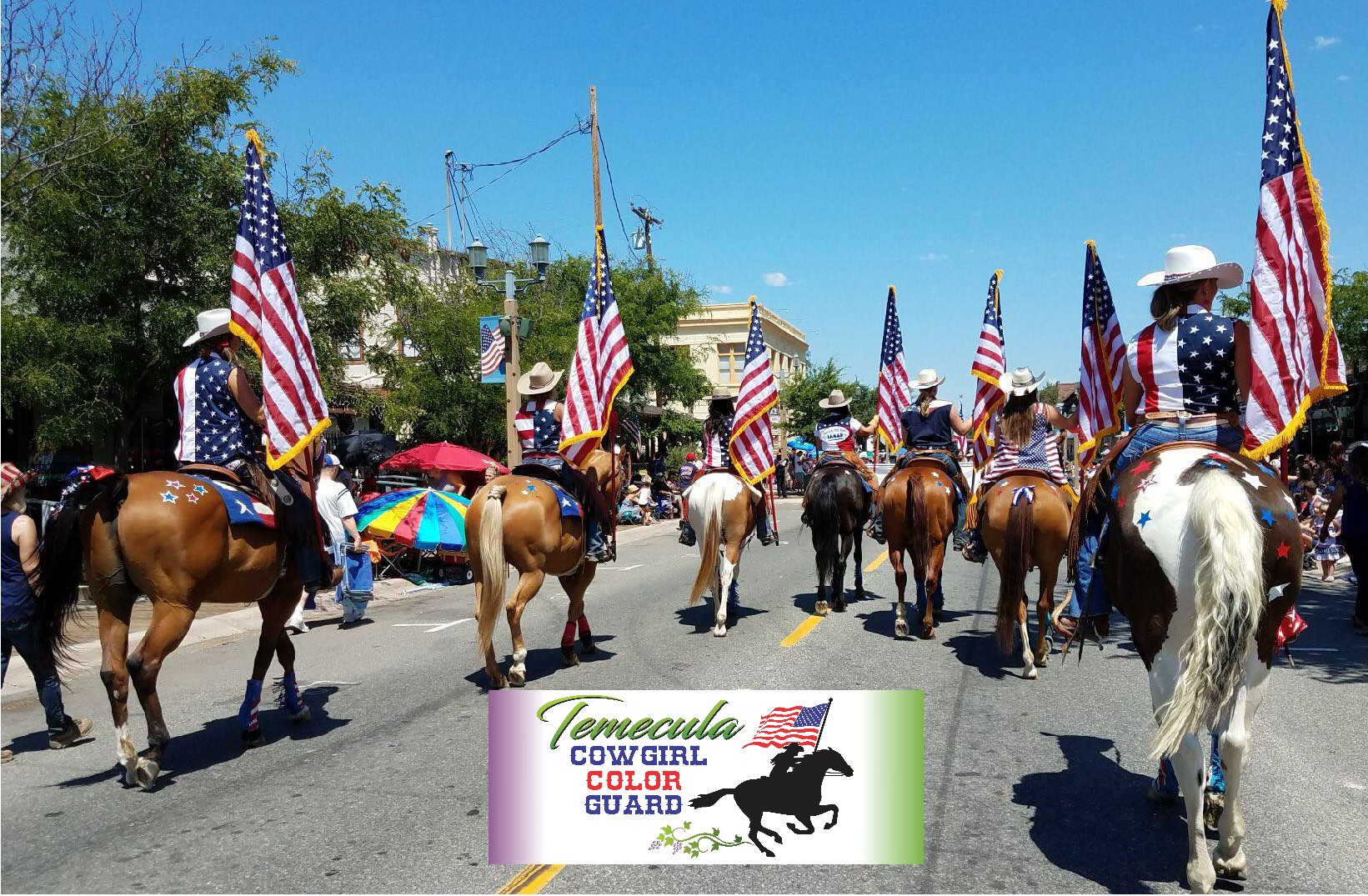 Temecula Cowgirl Color Guard
